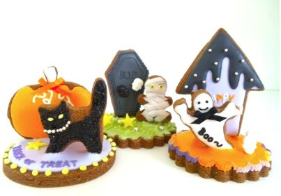KIDS 3D Halloween Cookies (Bake/Decorate!)