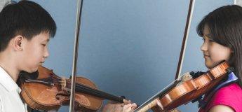 Family Music Program. Step 3: Beginner Violin & Viola Program (4-7yrs)