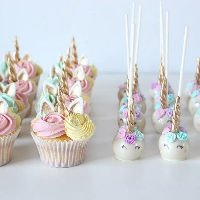 Summer Camp 2018 Unicorn Cake Pops And Cupcake Decorate