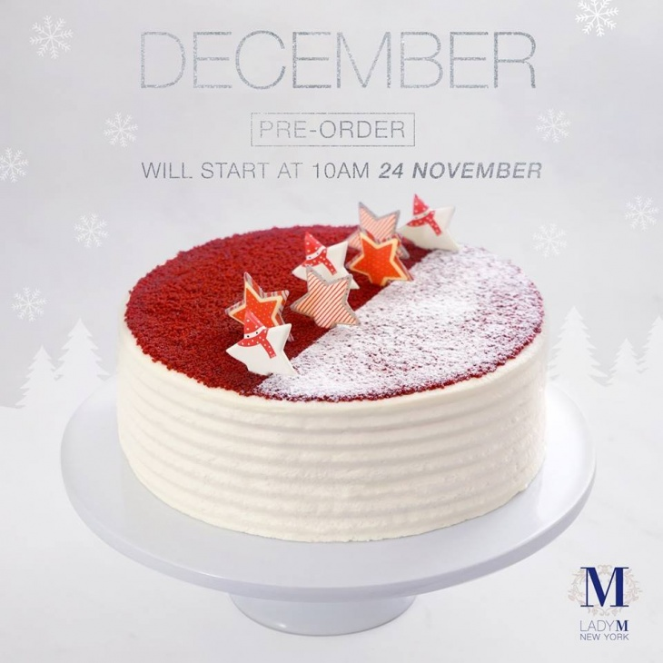 Christmas New Year Exclusive Cake Pre Order Tickikids Hong Kong