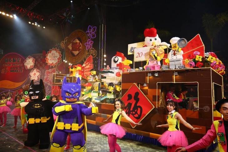 International Chinese New Year Night Parade 2018