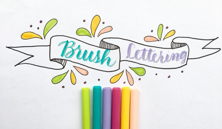 Workshop - Brush Lettering for kids - 2 sessions