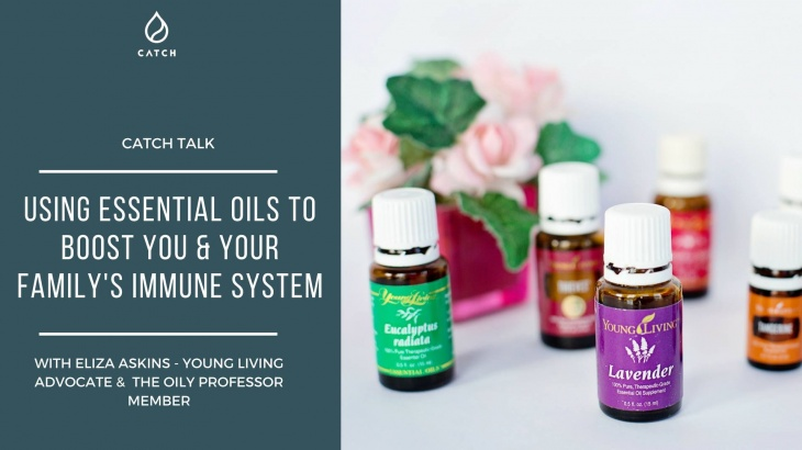 Using Essential Oils to Boost You & Your Family's Immune System