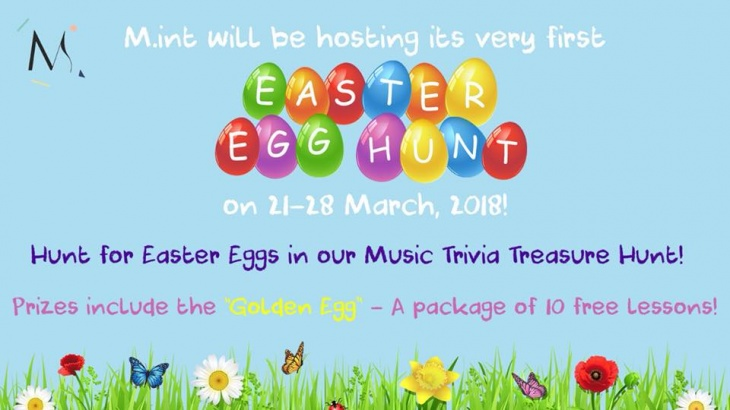 Academy 39 s easter egg music trivia prizes up for for Easter egg fun facts