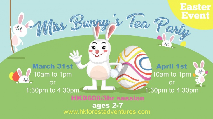 Miss bunny s tea party tickikids hong kong for What is the easter bunny s phone number