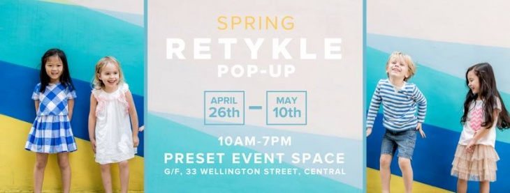 Spring Pop-Up in Central | Discounted Designer Childrenswear