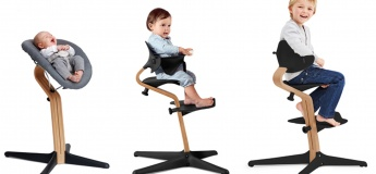 Nomi: the tool-free ergonomic highchair from newborn to teen
