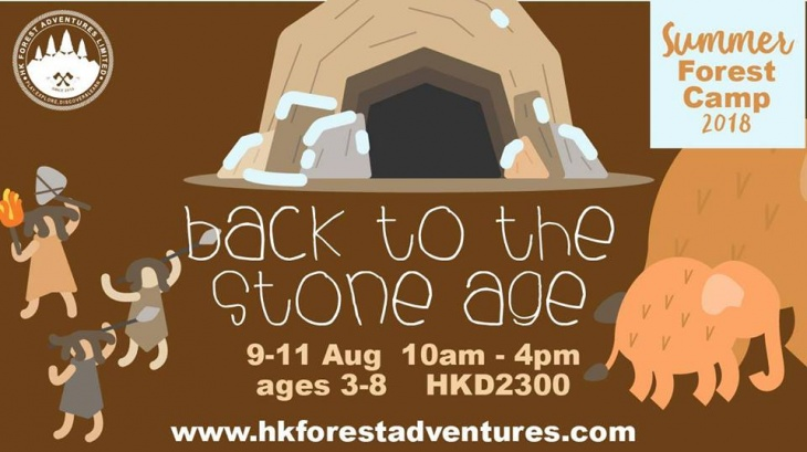 Summer Forest Camp - Back to the Stone Age!