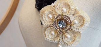 Haute Couture Embroidery Experience Workshop: Sequin Brooch