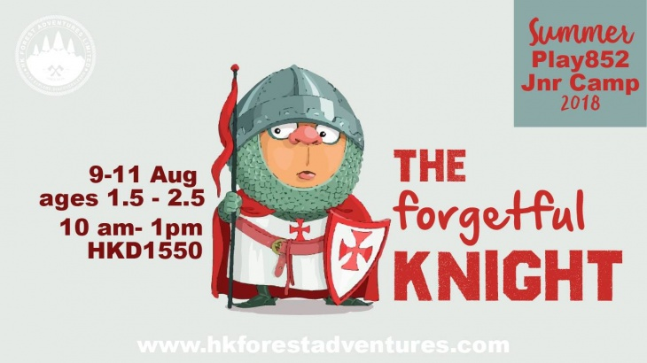 JNR Camp - The Forgetful Knight