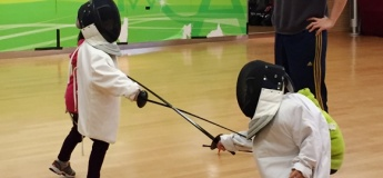 X'mas Fencing (4-5yrs)