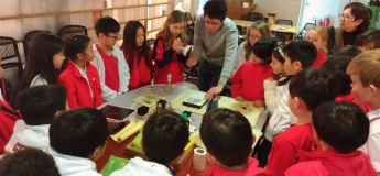 """Student Activities """"Vivid World of Chinese Characters"""""""