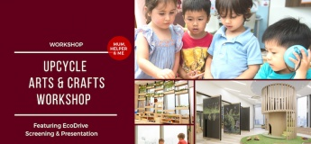 Upcycle Arts & Crafts Workshop | Featuring EcoDrive