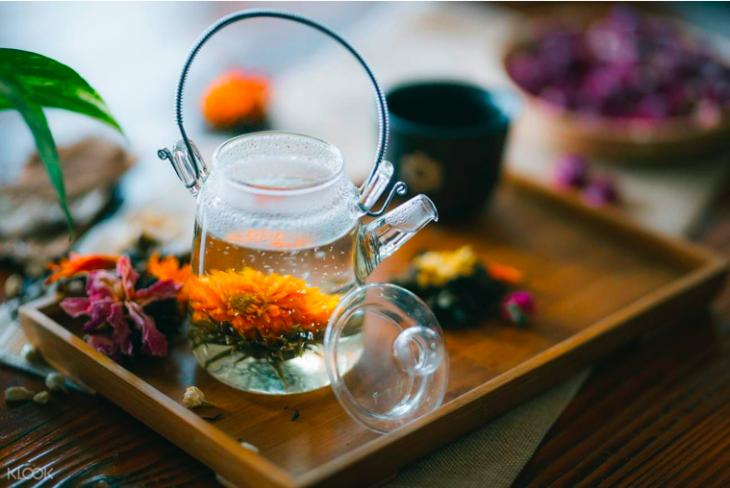 Ngong Ping 360 Blooming Tea Workshop