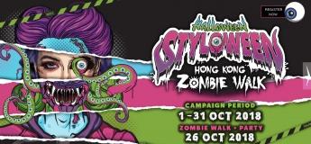 Halloween Styloween Hong Kong Zombie Walk