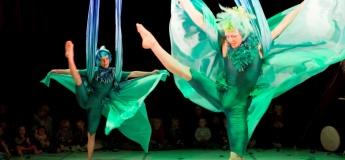 'Cheers!' Series: Strange Feathers by Fidget Feet Aerial Dance Theatre (Ireland)