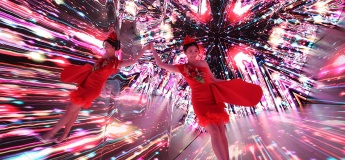 The World Largest Video Kaleidoscope Christmas Treasures @HarbourCity