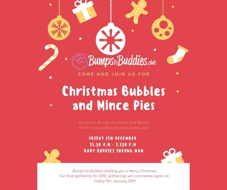 Christmas Bubbles and Mince Pies