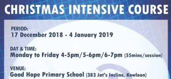 Christmas Intensive Course