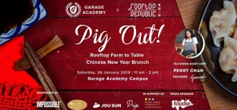 Pig Out! Rooftop Farm to Table Chinese New Year Brunch