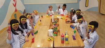 Curiosity Science Theme Birthday Parties