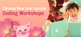 Chinese New Year Coding Workshops (for age 4-14)