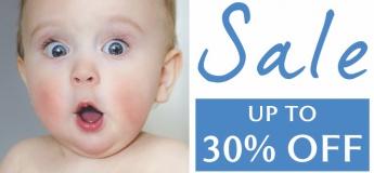 Up to 30% OFF Baby & Nursing 'Must-Have' Essentials