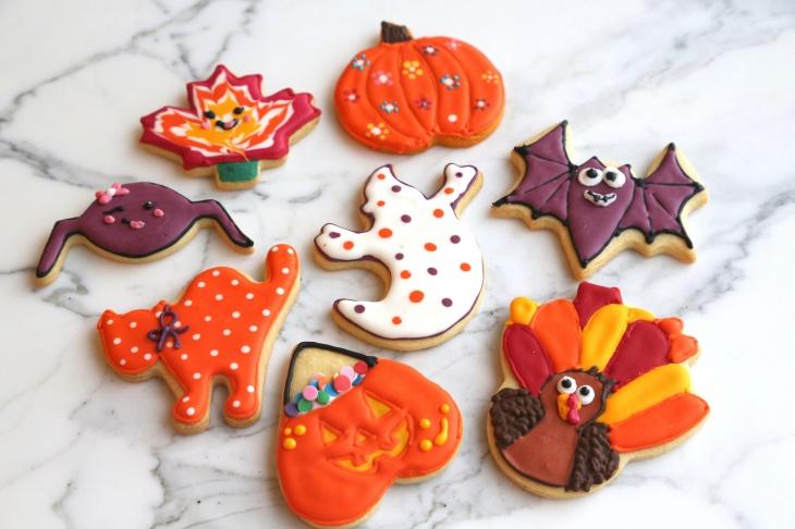 KIDS Halloween Cookies